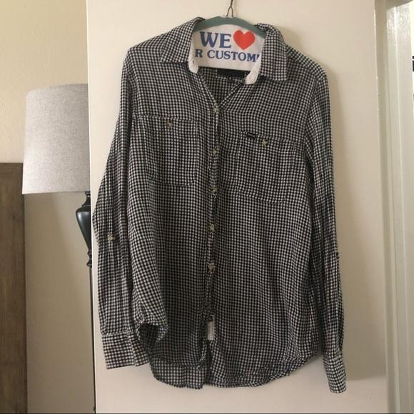 Hurley Tops - Hurley Checkered Light  Flannel.